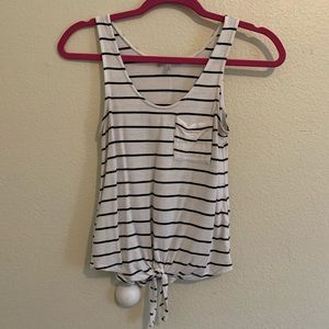 Charlotte Russe Tied Tank Top